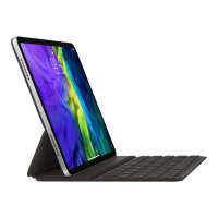 Apple Smart - Keyboard and folio case - Apple Smart connector - QWERTY - English - for 10.9-inch iPad Air (4th generation); 11-inch iPad Pro (1st generation, 2nd generation)