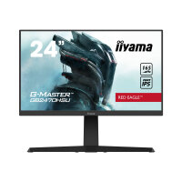 "iiyama G-MASTER Red Eagle GB2470HSU-B1 - LED monitor - 24"" (23.8"" viewable) - 1920 x 1080 Full HD (1080p) @ 165 Hz - Fast IPS - 250 cd/m² - 1100:1 - 0.8 ms - HDMI, DisplayPort - speakers - black"