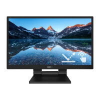 "Philips B Line 242B9TL - LED monitor - 24"" (23.8"" viewable) - touchscreen - 1920 x 1080 Full HD (1080p) @ 60 Hz - IPS - 250 cd/m² - 1000:1 - 5 ms - HDMI, DVI-D, VGA, DisplayPort - speakers - black texture"
