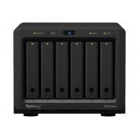Synology Disk Station DS620slim - NAS server - 6 bays - SATA 6Gb/s - RAID 0, 1, 5, 6, 10, JBOD - RAM 2 GB - Gigabit Ethernet - iSCSI