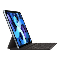 Apple Smart - Keyboard and folio case - Apple Smart connector - QWERTY - US International - for 10.9-inch iPad Air (4th generation); 11-inch iPad Pro (1st generation, 2nd generation)