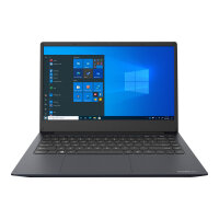 "Dynabook Satellite Pro C40-H-10F - Core i5 1035G1 / 1 GHz - Windows 10 Pro National Academic - 8 GB RAM - 256 GB SSD - 14"" 1366 x 768 (HD) - UHD Graphics - Wi-Fi, Bluetooth - dark blue, black (keyboard)"