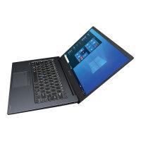 "Dynabook Portégé X40-J-11C - Core i7 1165G7 / 2.8 GHz - Win 10 Pro 64-bit - 8 GB RAM - 256 GB SSD - 14"" touchscreen 1920 x 1080 (Full HD) - Iris Xe Graphics - Wi-Fi, Bluetooth - mystic blue, matte black (keyboard) - with 1 Year Reliabil"
