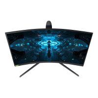 "Samsung Odyssey G7 C27G75TQSR - G75T Series - QLED monitor - curved - 27"" (26.9"" viewable) - 2560 x 1440 WQHD @ 240 Hz - VA - 600 cd/m² - 2500:1 - 1 ms - HDMI, 2xDisplayPort - black"