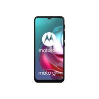 "Motorola Moto G30 - Smartphone - dual-SIM - 4G LTE - 128 GB - microSD slot - 6.5"" - 1600 x 720 pixels (269 ppi) - IPS - RAM 4 GB (13 MP front camera) - 4x rear cameras - Android - dark pearl"