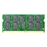 Synology - DDR4 - module - 4 GB - SO-DIMM 260-pin - unbuffered - ECC - for Disk Station DS1621+