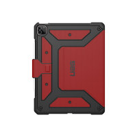 """UAG Rugged Case for iPad Pro 12.9-in (5th Gen, 2021) - Metropolis Magma - Flip cover for tablet - rugged - magma - 12.9"""" - for Apple 12.9-inch iPad Pro (4th generation, 5th generation)"""