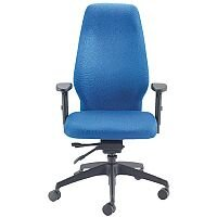 Avior Super Deluxe Extra High Back Ergonomic Posture Office Chair Blue