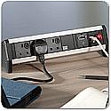 Bachmann Desk 1 On-Desk Power Outlets