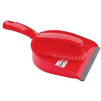 Bentley Dustpan and Brush Set Red 8011/R
