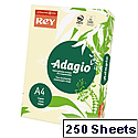 Adagio Card A4 160gsm Ivory (Pack of 250)
