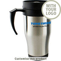 400ml/14oz Stainless Steel Insulated Travel Mug 70182809 - Customise with your brand, logo or promo text