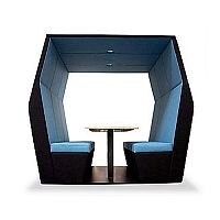 Meeting Pod BILL 6 Seater Blue