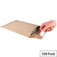 Blake Corrugated A4 Plus Board Back Envelopes  (Pack of 100)