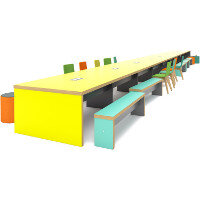 Block Infinity Canteen Table