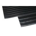 Broad Ribbed Matting 3mm 1200mm x1 Linear Metre Black 379272