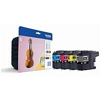 Brother LC127XLVALBP 4 Colour Value Pack Ink Cartridges Violin