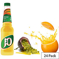 Britvic Orange & Passion Fruit J2O Juice Drink 330ml Plastic Bottle (Pack of 24) 202496