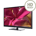 Cello Black HD 32'' LED TV With USB/DVD C32224F