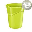 CEP Pro Gloss Office Waste Desk Bin Green 14L