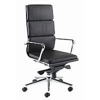 Aria C High Back Designer Leather Office Armchair Black CH1
