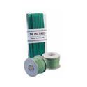 China Ribbon Cotton Green Roll 4mm x30 Metres