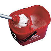 Mop Bucket Wringer 15 Litre Red