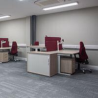 Comhar Linn INTO Credit Union Office Fitout in Dublin By HuntOffice Interiors