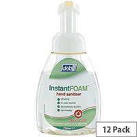 Deb Instant Foam Complete 250ml Hand Sanitiser Pump Pack of 12 DIS250ML