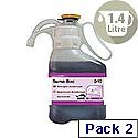 Diversey Suma Bac Detergent Surface Sanitizer D10 1.4 Litre 7517201 [Pack 2]