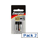 Energizer A23/E23A Alkaline Battery Pack of 2 629564