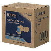 Epson S050592 Cyan Laser Toner Cartridge C13S050592 6000+ Pages