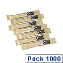 Fairtrade Brown Sugar Sticks Sachets Pack of 1000
