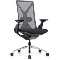 Fercula Executive High Back Mesh Chair Black