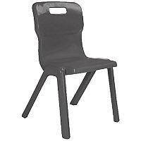 FF Dd Titan Antibacterial Chair Charcoal H430 KF74095
