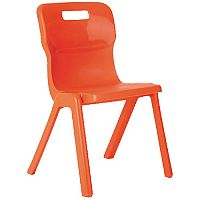 FF Dd Titan Antibacterial Chair Orange H350 KF74082