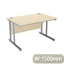 Jemini Intro 1500mm Rectangular Cantilever Desk Maple