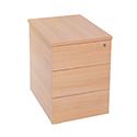 Jemini Intro Desk High Pedestal D800 Bavarian Beech