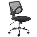 Jemini Medium Mesh Back Task Chair Black KF73602