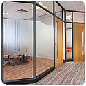 Tenon FINESSE Single Glazed Demountable Partitioning System