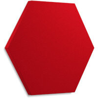 Fluffo SOFT Acoustic Wall Panel - Hexa L