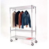 Garment Hanging Rail 2448M Mobile 366045