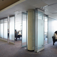 Multiwal Mobile Glass Panel Walls