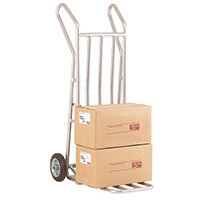 Aluminium Folding Footiron Sack Truck Capacity 150kg With Rubber Wheels 309033
