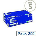 Disposable Powder-Free Nitrile Gloves Blue Small Box of 200 Handsafe GN90