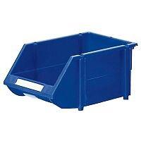 Heavy Duty Storage Bin Pack of 12 Blue 360234