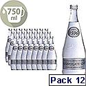 Harrogate Spring Glass Bottled Water Sparkling 750ml Pack of 12