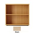 Jemini 1000mm Bookcase 1 Shelf Maple KF838421