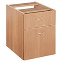 Jemini 2-Drawer Fixed Pedestal Beech KF72075