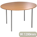Jemini Circular Table 1200mm Beech KF72385